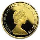 CANADA 1977 CANADA 1/2 OZ PROOF GOLD $100 JUBILEE FLOWERS